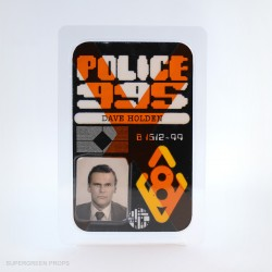 Holden police badge, supergreen props, handcrafted collectibles
